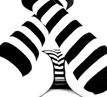 Stripes by Gabor Pozsgai