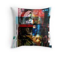Paradoxity (self portrait) Throw Pillow