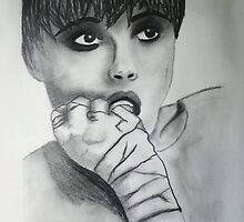 Edie Sedgwick - Profile - Girl in the fire by Kayleigh Lamb