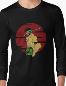 The Swordsman Of The Straw Hat Crew Long Sleeve T-Shirt