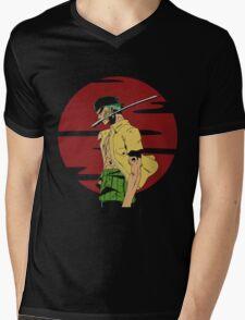 The Swordsman Of The Straw Hat Crew Mens V-Neck T-Shirt