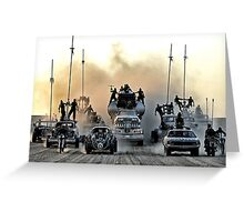 Mad Max - War Boys Line-Up Greeting Card