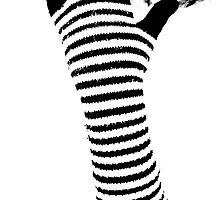 Stripes glove by Gabor Pozsgai