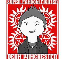 Super Fandom Fighter - Dean Photographic Print