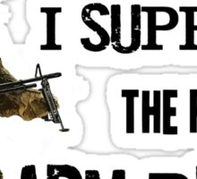 I Support the Right to Arm Bears, Grizzly Bears Sticker