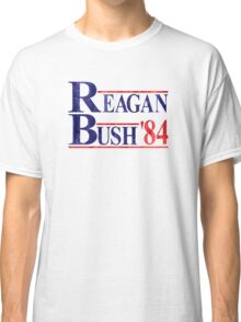 Reagan Bush '84 Election Vintage  Classic T-Shirt