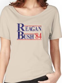 Reagan Bush '84 Election Vintage  Women's Relaxed Fit T-Shirt