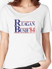 Reagan Bush '84 Election Vintage  Women's Relaxed Fit T-Shirt