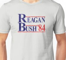 Reagan Bush '84 Election Vintage  Unisex T-Shirt