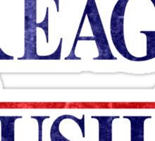Reagan Bush '84 Election Vintage  Sticker