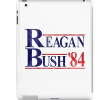 Reagan Bush '84 Election Vintage  iPad Case/Skin
