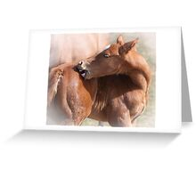 Aaah, Maybe it DOES hurt! Greeting Card