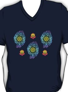 India Style Triple Paisley  T-Shirt