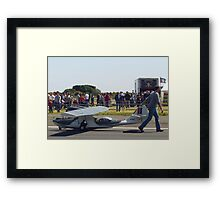 Dragging Pussy by the tail! Framed Print