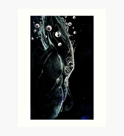 Cthulhu Dreams of the Eyes S/He will Collect . . . Art Print