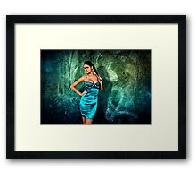 Grunge Fashion Fine Art Print Framed Print