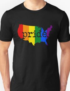 AMERICA USA GAY PRIDE MARRIAGE MAP  T-Shirt