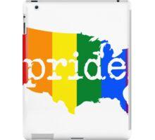 AMERICA USA GAY PRIDE MARRIAGE MAP  iPad Case/Skin