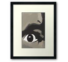 Eye Of Charlie Framed Print