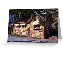 The Paoli Cheese House Cottage Greeting Card