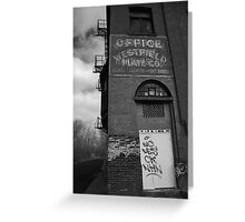 Urban Decay Series--Westfield Office/Casket Co. Greeting Card