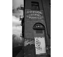 Urban Decay Series--Westfield Office/Casket Co. Photographic Print