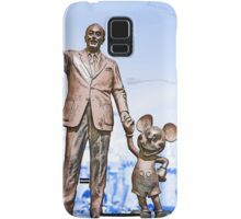Walt and Mickey Samsung Galaxy Cases and Skins Blue Samsung Galaxy Case/Skin