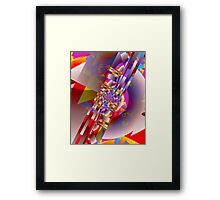 It's Party Time Framed Print