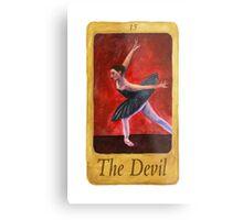 Ballet Tarot Cards: The Devil Metal Print