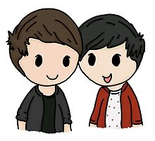 Dan and Phil by clevernessofyou