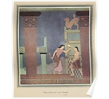 Tanglewood Tales - Nathaniel Hawthorne - Art by Edmund Dulac - 1919 - 0061 - Then Follow Me Poster