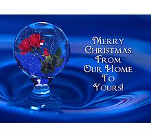 Water Drop SnowGlobe Photographic Print