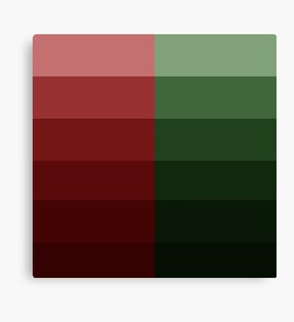 Christmas Ombre Canvas Print