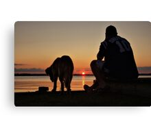 G' Day, Mate Canvas Print