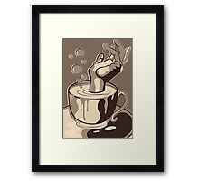 Caffeine Addiction Framed Print