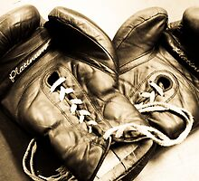 Boxing gloves by Denis Charbonnier