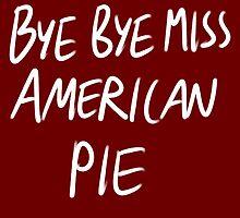 American Pie Sticker by strawberrytea