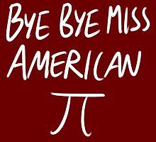 american pi sticker by strawberrytea