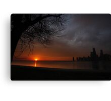 Nature and The City Canvas Print