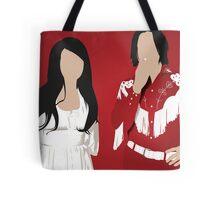The White Stripes Tote Bag