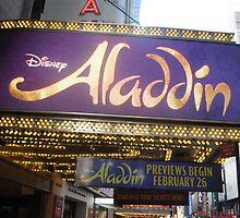 Aladdin Broadway Marquee by emjorgenson