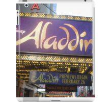 Aladdin Broadway Marquee iPad Case/Skin