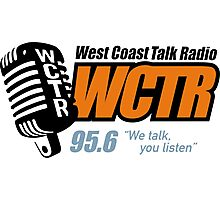 West Coast Talk Radio 95.6 Photographic Print