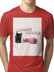 Knit This! Tri-blend T-Shirt