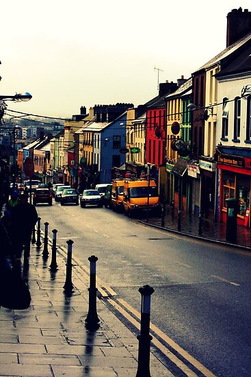 Street in Cork City by kirsten116