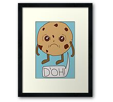 Cookie D'oh Framed Print