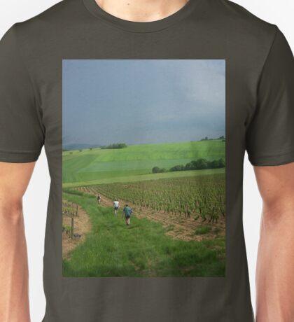 a vast France landscape Unisex T-Shirt