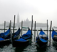 The Gondolas of Venice by patti4glory