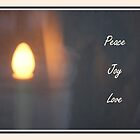 Put A Candle In The Window - Peace Joy Love by Judi FitzPatrick
