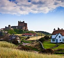 Bamburgh Castle by David Lewins